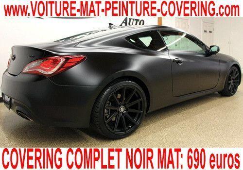 voiture noire mat voiture peinture mat voiture mat. Black Bedroom Furniture Sets. Home Design Ideas